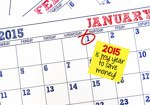 Achieve your financial resolutions in 2015