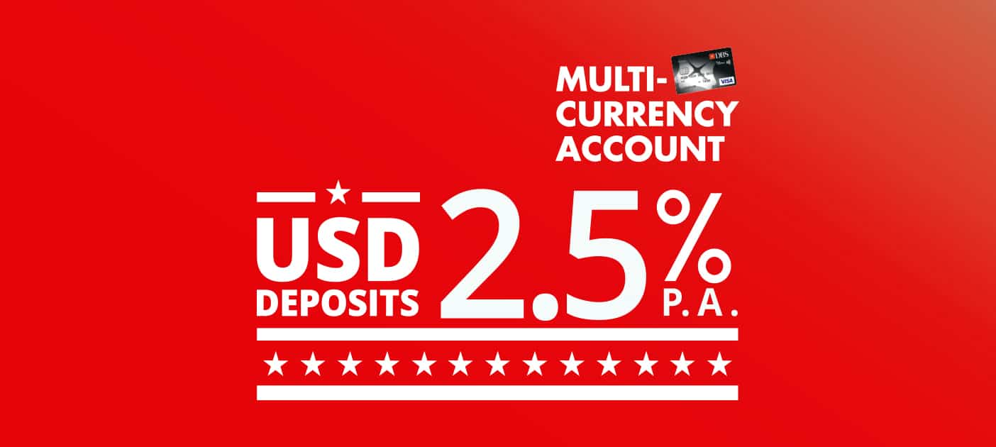 Dbs multi currency account forex rates
