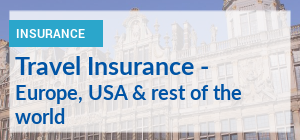 Traveling to Europe or USA? Compare travel insurance premiums.