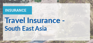 Travelling to South East Asia? Compare travel insurance premiums.