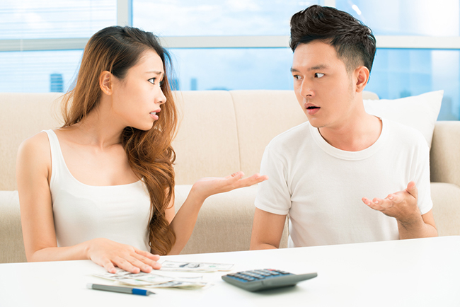 Couples will definitely argue about money management issues