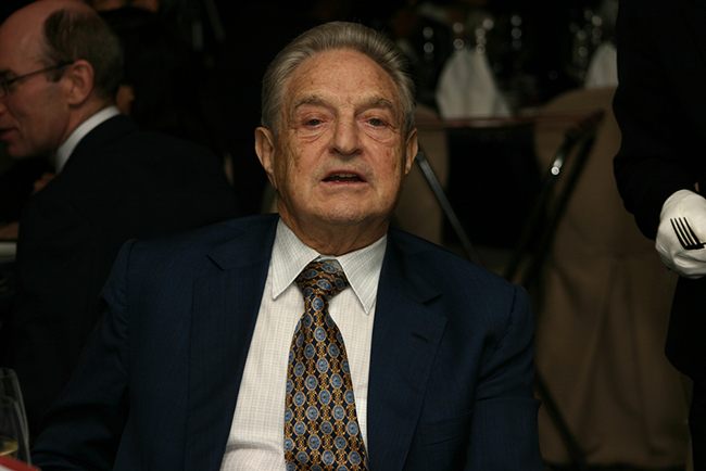 George Soros does a lot of risky trading and currency speculation