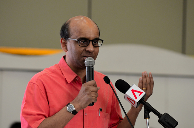 Finance Minister Tharman will be announcing Budget 2015 on 23 February