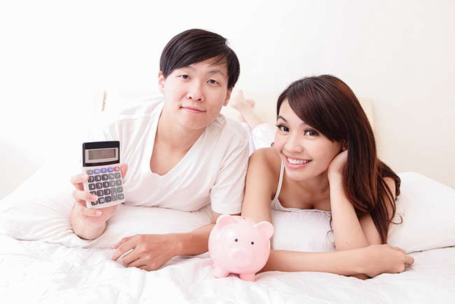 It's important for couples to talk about money management