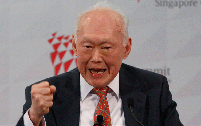 Article Image - Mr Lee Kuan Yew was a firm man of action and stood up for what he believed in