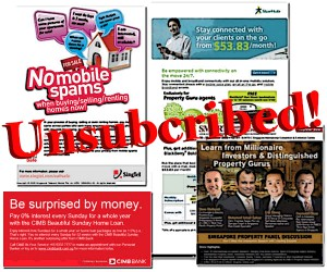 Article Image - Unsubscribe from advertising collaterals