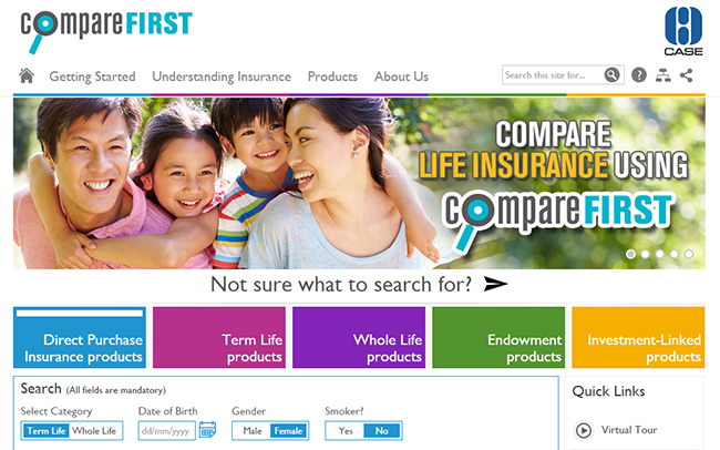 Top Image - compareFIRST before Buying Life Insurance