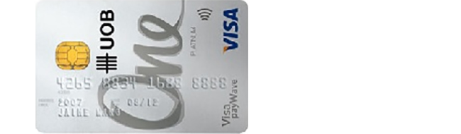 Article Image - Best Wedding Credit Card - UOB One Card