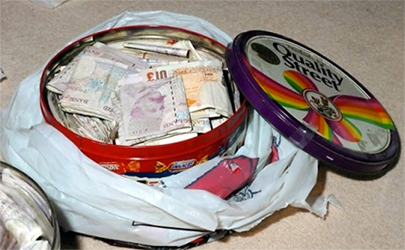 Article Image - Don't keep your emergency fund in a biscuit tin