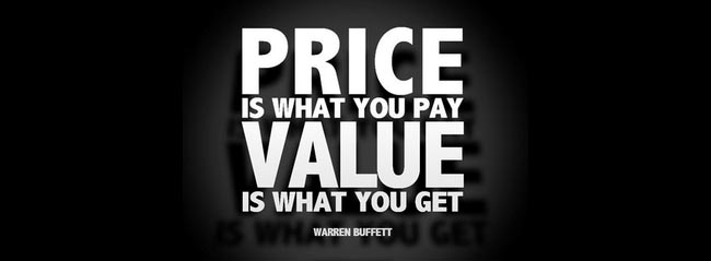 Article Image - Price is what you pay; value is what you get