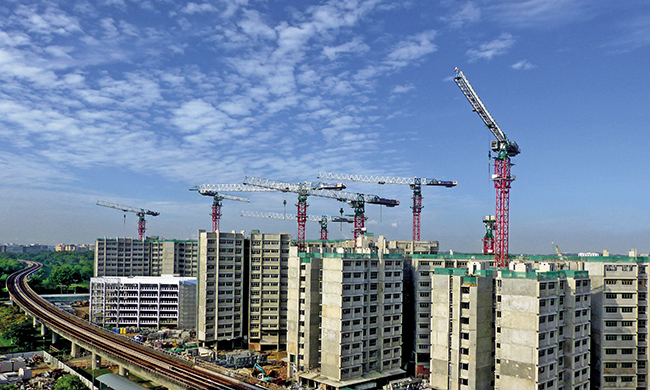 Article Image - Property investment - The property market is tied to the construction industry, one of the main drivers of Singapore's economy