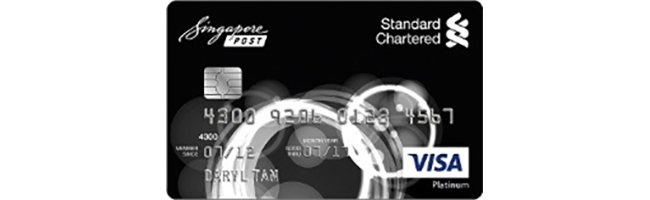 Article Image - Standard Chartered SingPost Platinum Visa Credit Card