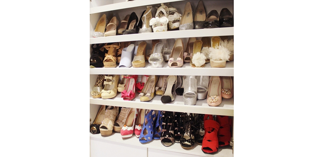 Article Image - Local fashion blogger Regina Chow's shoe collection