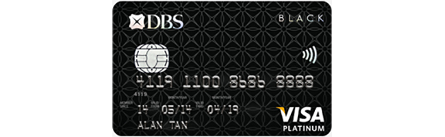 Article Image - Singapore's Best Credit Cards for Petrol - DBS Black Visa Card