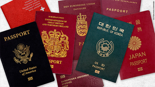 Article Image - Some of the world's most valuable passports