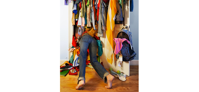 Article Image - Women have a habit of buying and hoarding clothes, which makes it harder to save