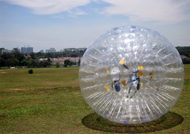 Article Image - Zorbing in Singapore