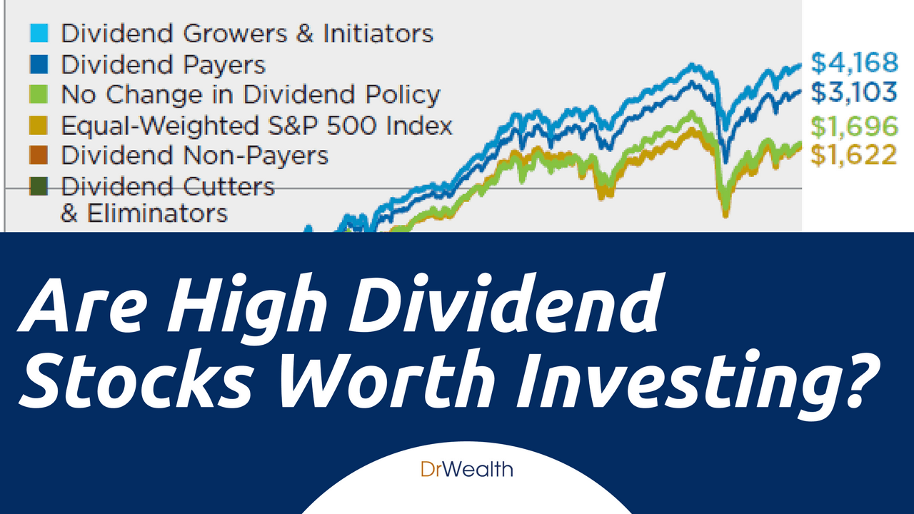 Are high dividend stocks worth investing dr wealth - High div stocks ...