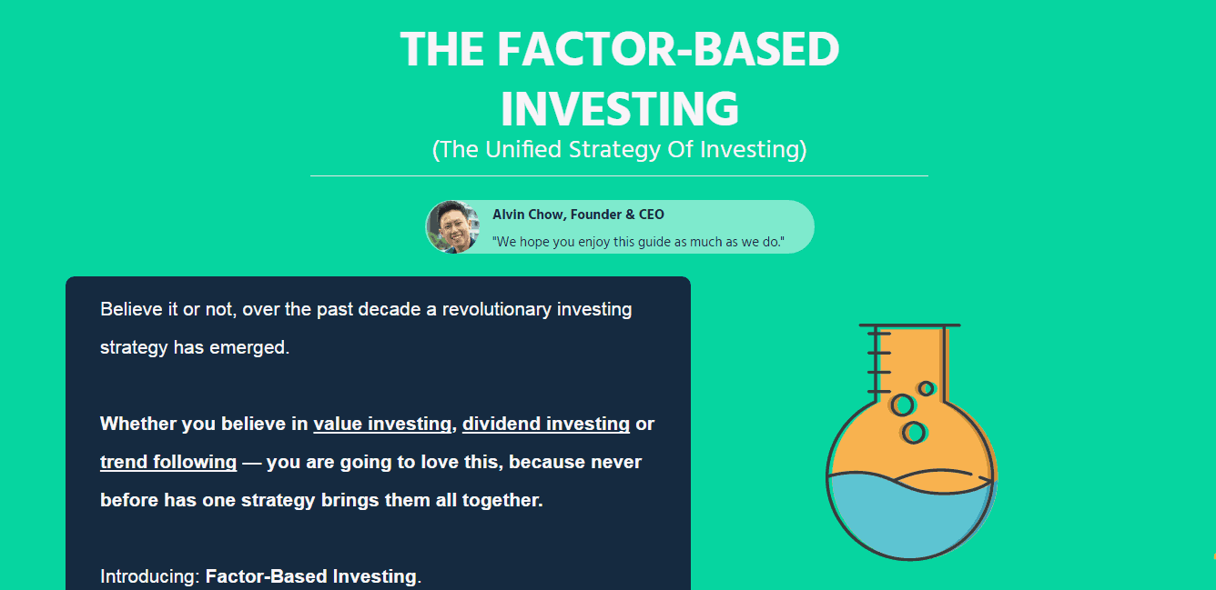 Finally! A Revolutionary Investing Strategy That Explains Why It All Work.