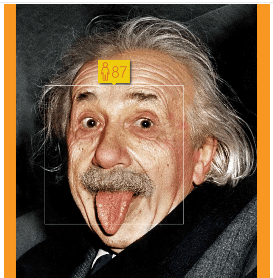 Einstein was 72 when the picture was taken