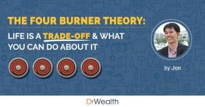 The Four Burner Theory: Life Is A Trade-Off & What You Can Do About It.
