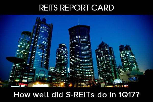 REITs Report Card For 1Q17