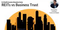 reits vs business trust