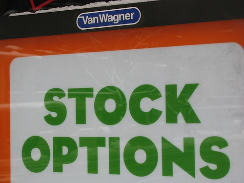 Stock options wealth