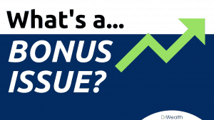 what is a bonus issue